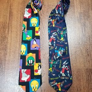 VINTAGE LOONEY TUNES MANIA MENS TIES